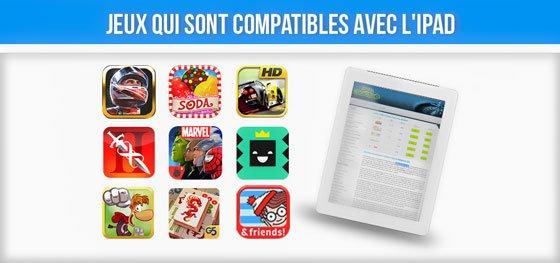 Meilleurs jeux compatibles iPad